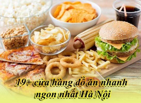 """19+ cửa hàng Take Away """"Đồ ăn nhanh"""" ngon nhất tại Hà Nội"""